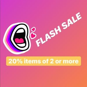 FLASH SALE!!!!!!! LIMITED TIME